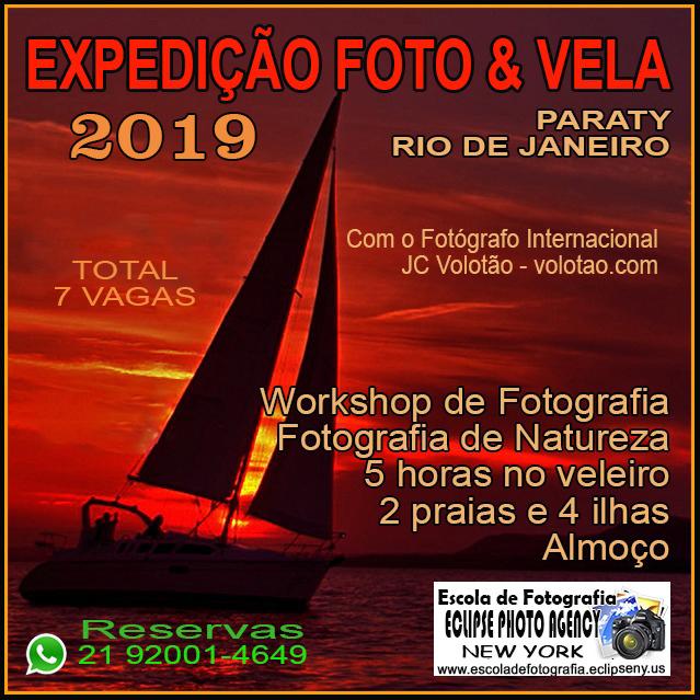 EXPEDIÇÃO FOTO & VELA PARATY em 2019