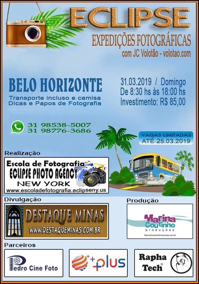 Expedição fotográfica em Belo Horizonte 31/03/2019